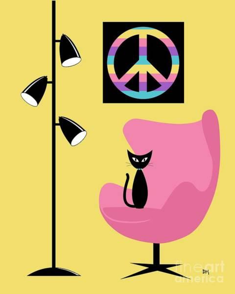 Digital Art - Peace Symbol by Donna Mibus