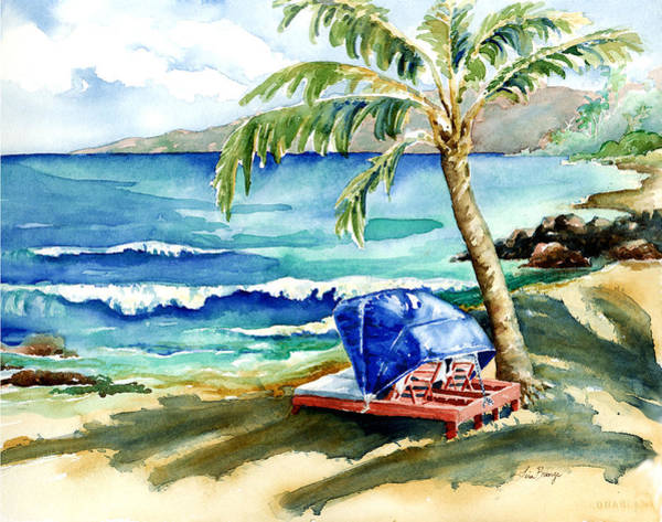 Wall Art - Painting - Peaceful Bay by Lisa Bunge