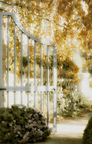 Chicago Botanic Garden Photograph - Peaceful English Garden by Julie Palencia