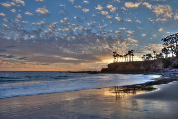 Photograph - Peaceful Evening Laguna Beach by Cliff Wassmann