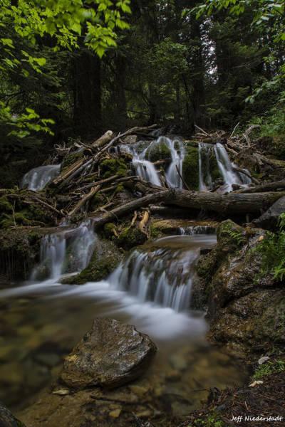 Photograph - Peaceful Falls by Jeff Niederstadt