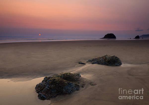 Cannon Beach Photograph - Peaceful by Mike  Dawson
