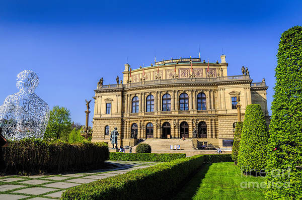 Photograph - Peaceful Rudolfinum by Brenda Kean