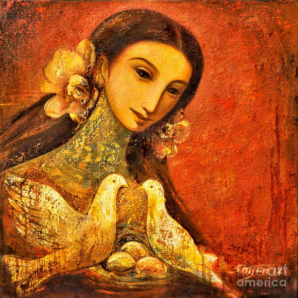 Painting - Peaceful by Shijun Munns