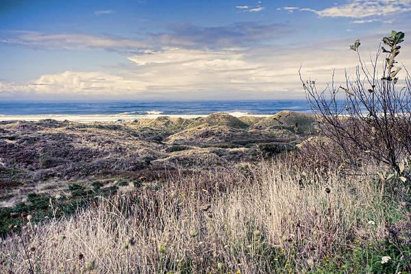 Oregon Sand Dunes Photograph - Peaceful Shore by Bonnie Bruno