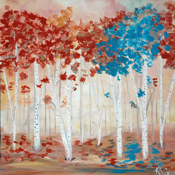 Kag Wall Art - Painting - Peaceful Sunday by Gina Cooper