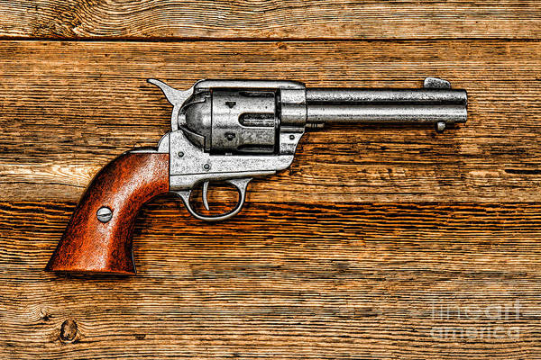 Antique Firearms Wall Art - Photograph - Peacemaker by Olivier Le Queinec