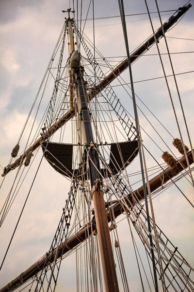 Photograph - Peacemaker Rigging by Dale Kincaid