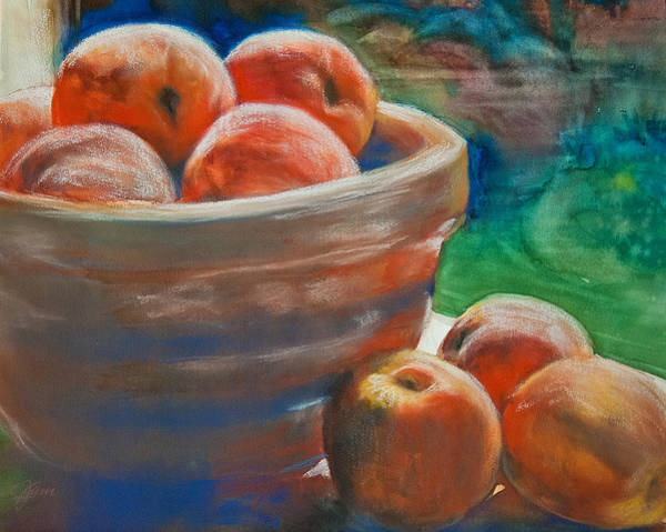 Painting - Peach Fuzz by Jani Freimann