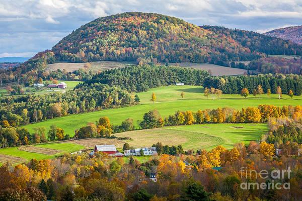 Photograph - Peacham Autumn Farm by Susan Cole Kelly