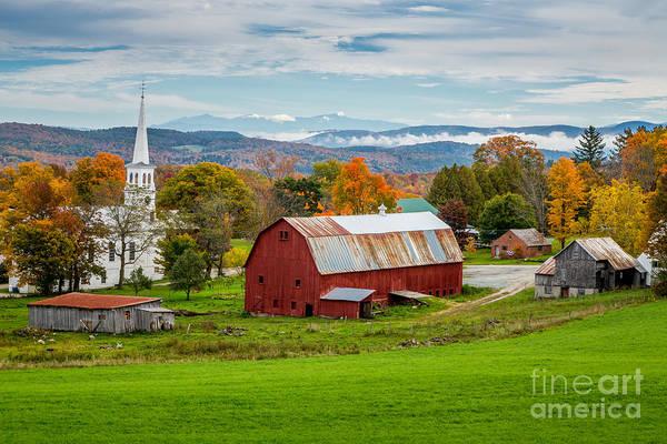 Photograph - Peacham Farm by Susan Cole Kelly