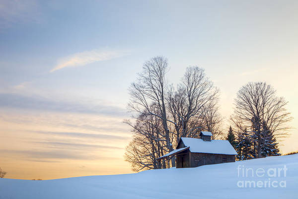 Photograph - Peacham Sugarhouse by Susan Cole Kelly