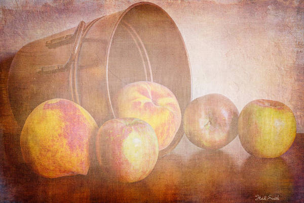 Wall Art - Photograph - Peaches And Apples by Heidi Smith