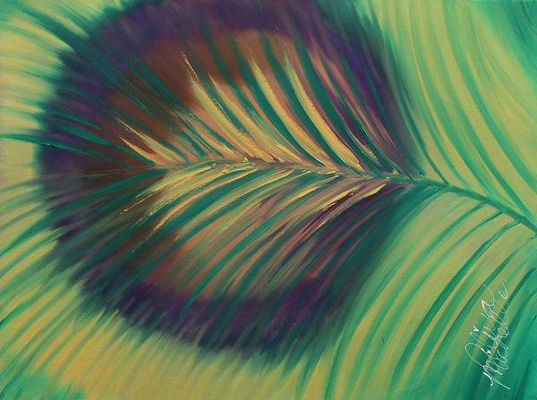Painting - Peacock by Aliya Michelle