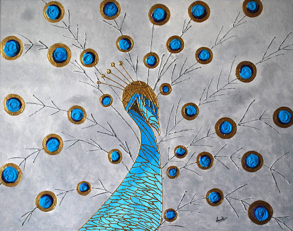 Peacock And Its Beauty Art Print