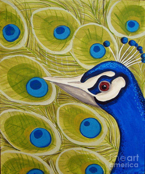 Painting - Peacock Love by Lee Owenby