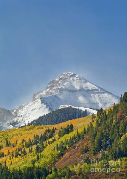 Wall Art - Photograph - Peak After First Snow Rocky Mts Colorado by Yva Momatiuk John Eastcott