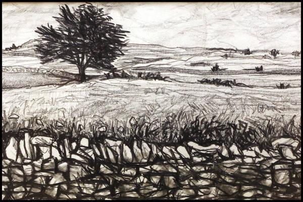 Drawing - Peak District by Paul Sutcliffe