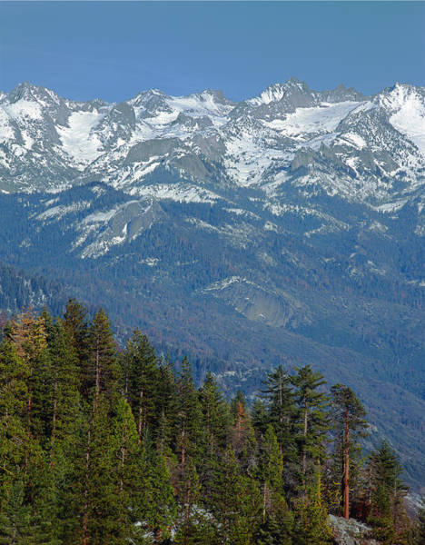 Photograph - 2m6846-peaks Of The Great Western Divide  by Ed  Cooper Photography