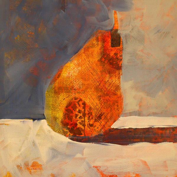 Vegan Painting - Pear Patterns by Nancy Merkle