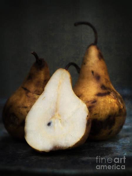 Photograph - Pear Still Life by Edward Fielding