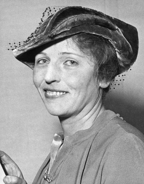Black Buck Photograph - Pearl Buck Wins Nobel Prize by Underwood Archives