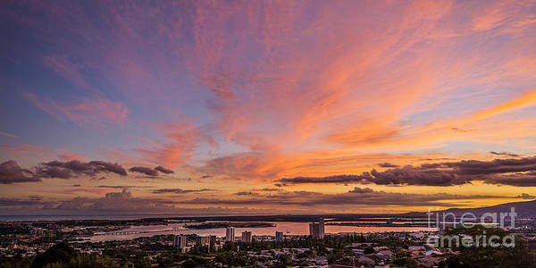 Uss Bowfin Photograph - Pearl Harbor At Sunset by Aloha Art