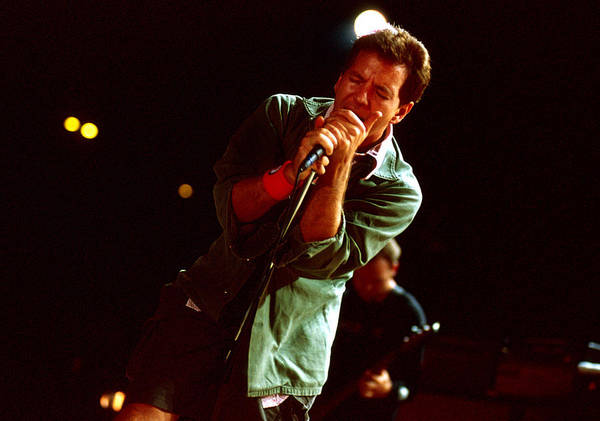 Pearl Jam Photograph - Pearl Jam At Shoreline by Stephen Miner