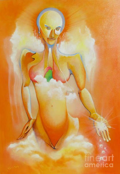 Painting - Pearls Sprayer by Alexa Szlavics