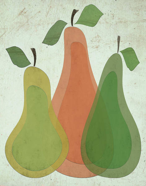 Mod Painting - Pears I by Shanni Welsh