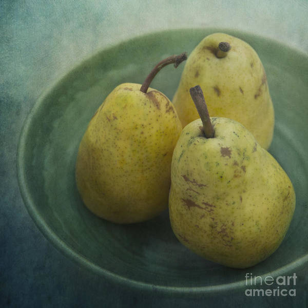 Wall Art - Photograph - Pears In A Square by Priska Wettstein