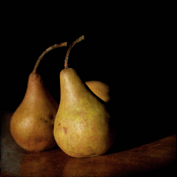 Wood Photograph - Pears by Jill Ferry
