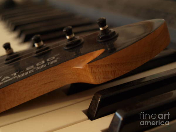 Photograph - Peavey Guitar - 2 by Vivian Martin