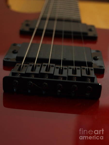 Photograph - Peavey Guitar - 4 by Vivian Martin