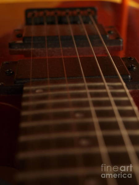 Photograph - Peavy Guitar - 7 by Vivian Martin