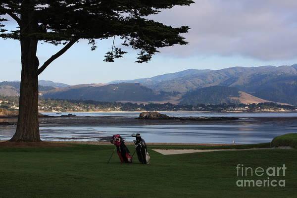 Pebble Beach Golf Course Photograph - Pebble Beach by Andrew Romer