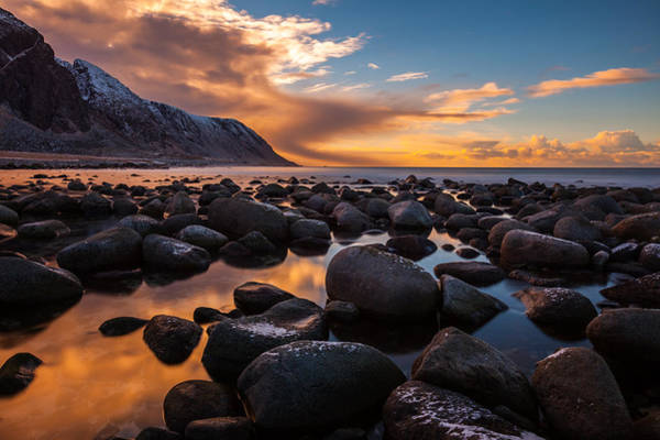 Photograph - Pebble Beach - Arctic Style by Andy Bitterer