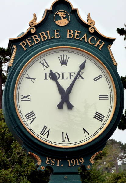 Photograph - Pebble Beach Rolex by Jeff Lowe