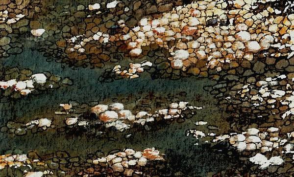 Painting - Pebbles by Anastasiya Malakhova