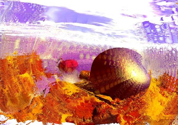 Digital Art - Pebbles On A Beach by Anastasiya Malakhova
