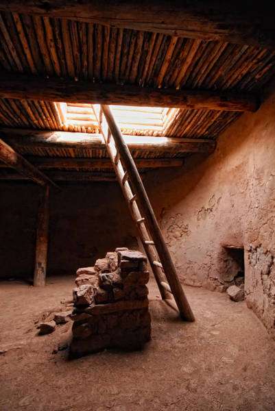 Photograph - Pecos Kiva Ladder by Ghostwinds Photography