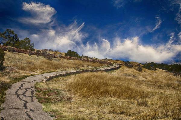 Photograph - Pecos Pueblo Walkway by Bill Barber