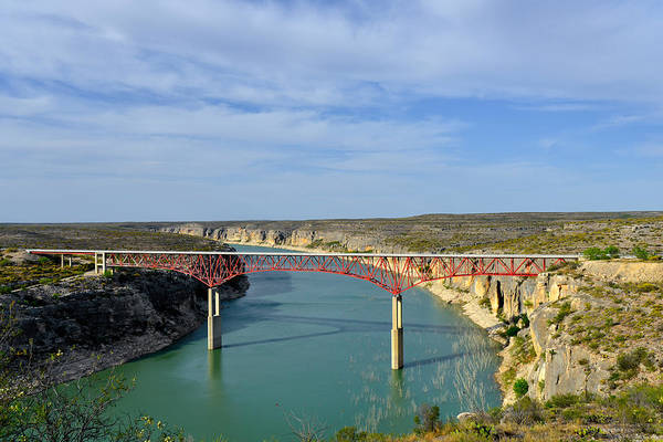 Wall Art - Photograph - Pecos River High Bridge by Christine Till