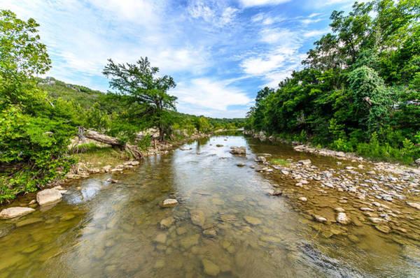 Photograph - Pedernales River by David Morefield