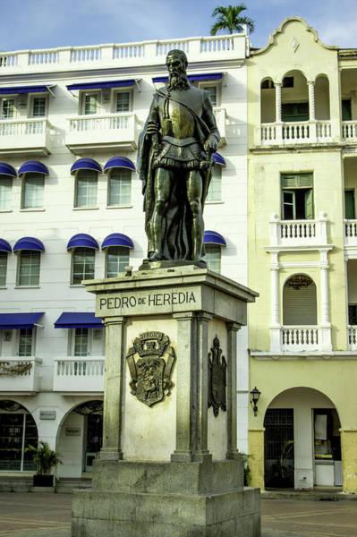 Cartagena Photograph - Pedro De Heredia, Founder Of Cartagena by Jerry Ginsberg