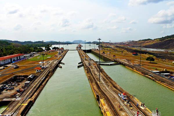 Photograph - Pedro Miguel Locks Panama Canal by Kurt Van Wagner