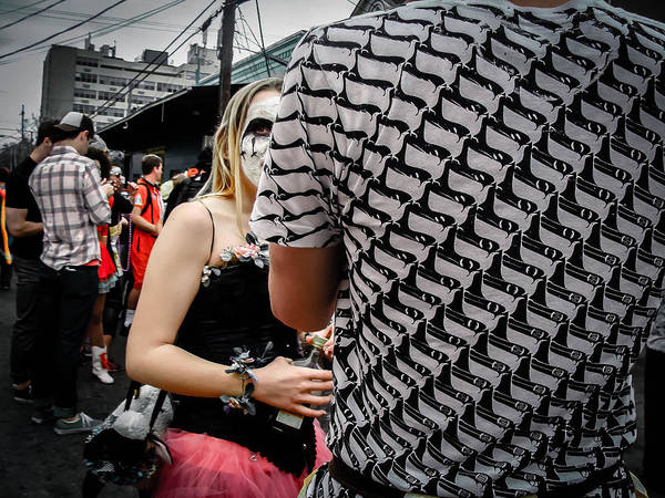 Photograph - Peek-a-boo Surreal In New Orleans by Louis Maistros