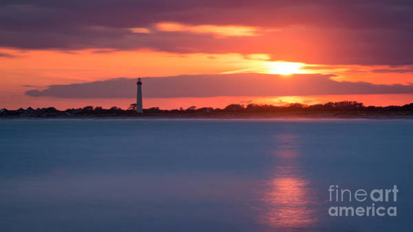 Cape May Lighthouse Photograph - Peeking Through The Clouds by Michael Ver Sprill