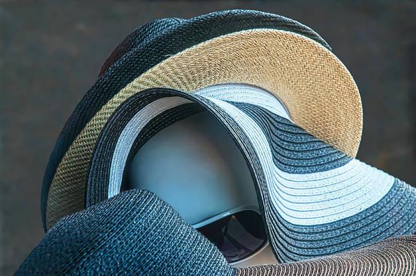 Photograph - Peeking Through The Hats by Gary Slawsky
