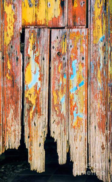 Peel Photograph - Peeling Door by Carlos Caetano